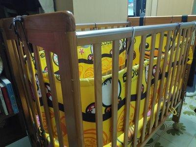 BB床(八成新),床褥連床圍 (1100 x 610 x 980mm)- 沙田博康邨交收