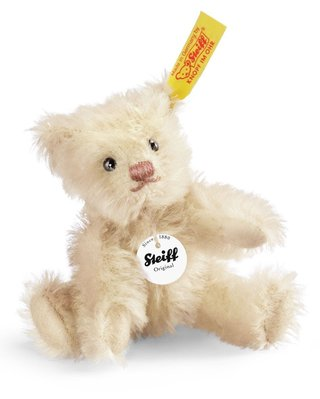 【STEIFF德國金耳釦泰迪熊】Mini Teddy Bear 收藏版泰迪熊