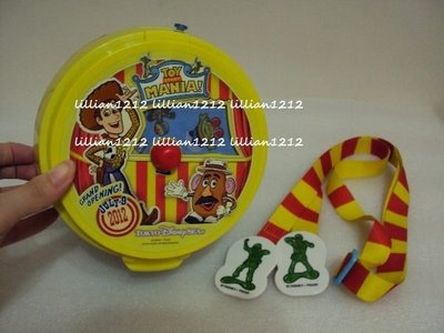 新貨到~日本2012東京迪士尼disney限定玩具總動員胡迪爆米花筒(現貨) 爆米花桶