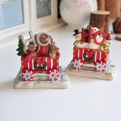 宏美飾品館~外貿鄉村田園彩繪圣誕小老鼠雪人 趣味場景擺件裝飾品孤品