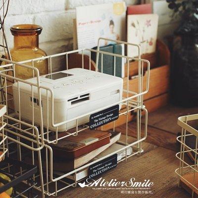 [ Atelier Smile ] 鄉村雜貨 日本直送 可壁掛 可堆疊 收納架 收納籃 檯面料理收納架 (現+預)
