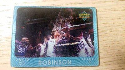 97-98 UD DIAMOND VISION #24 DAVID ROBINSON