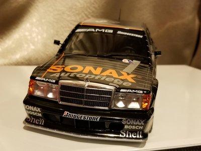 100% new 1/18 Mercedes Benz 190e 2.5-16 EVO II DTM 1992 BOSS SONAX