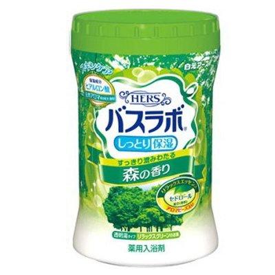 日本 白元 HERS 碳酸溫泉入浴劑 680g~森林沐浴