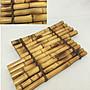 日本時代竹製品  斑竹 敷板 花台 筏 煎茶道...