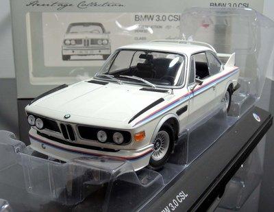 【MASH】現貨特價 原廠 Minichamps 1/18 BMW 3,0 CSL 1975 (全可開)
