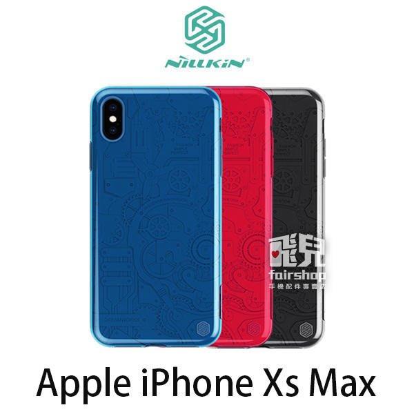 【妃凡】NILLKIN Apple iPhone Xs Max 械甲保護殼 高出鏡頭設計 鏡頭防刮 (K)
