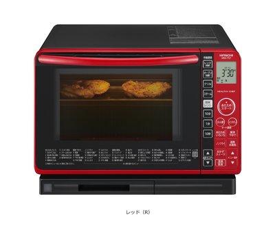 【空運代購 包稅】日本 日立 HITACHI MRO-TS7 水波爐/蒸氣烤箱/22L/過熱水蒸氣/紅色