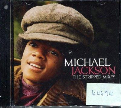*真音樂* MICHAEL JACKSON / STRIPPED 二手 K4474 (封面底破.CD有缺口不影響讀取) (清倉.下標賣2)