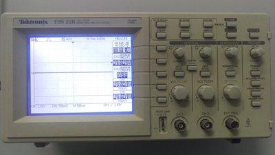 鼎瀚科技 專業儀器維修校正實驗 數位即時示 Tektronix TDS220
