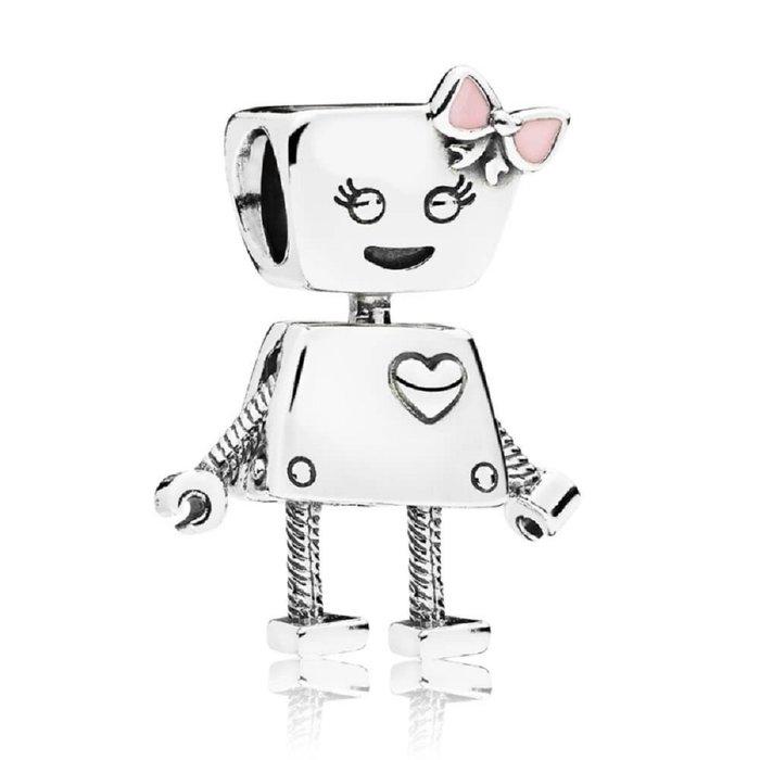 【金永珍珠寶鐘錶】實體店面*PANDORA潘朵拉 保證原廠真品 797141EN160 女機器人 秒殺現貨*