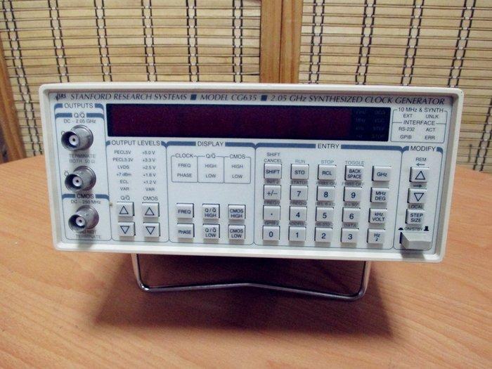 康榮科技二手儀器Stanford Research CG635 Synthesized Clock Generator