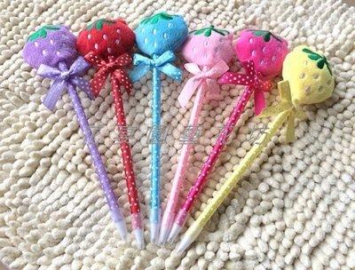 【花宴】*草莓造型原子筆*婚禮小物~情人禮/生日禮~探房禮~贈品.賓客禮~送客禮