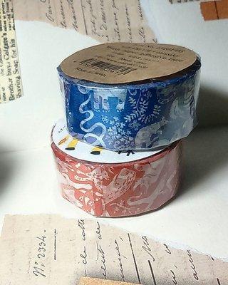 【R的雜貨舖】紙膠帶分裝 倉敷意匠和紙膠帶-  MIHANI工房和紙膠帶_同伴