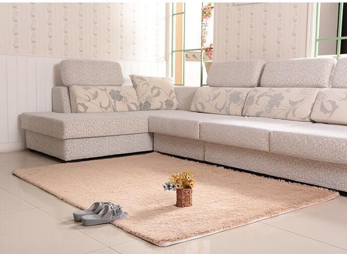 麥麥部落 樂巢加厚可水洗不掉色絲毛地毯地墊客廳茶幾臥室床邊地毯MB9D8
