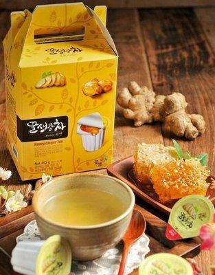 韓國超人氣生薑茶膠囊隨身包15入~另有韓國柚子茶/紅棗茶隨身包小禮盒~可超商取貨喲