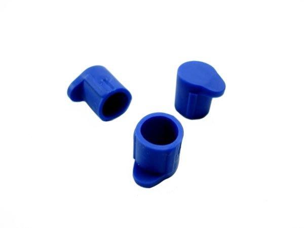 【喵喵模型坊】FUTABA 配件 遙控器用 14MZ/12Z/12FG/3PK適用 天線蓋/藍色3入 (BT2304)
