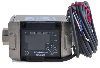 【KC.PLC_FA 】基恩斯 Keyence FD 系列 - FD-M5AY 電極非接液型 電磁式流量開關