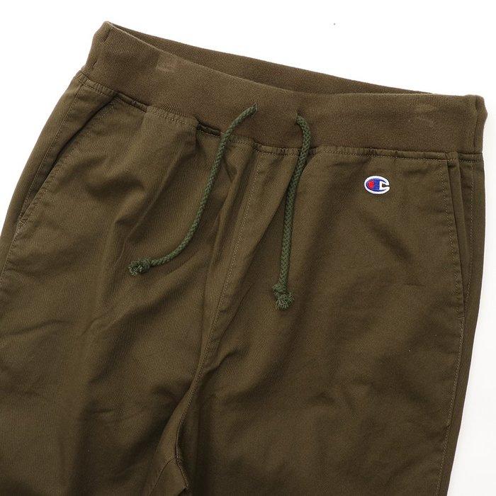 沃皮斯§CHAMPION TWILL LONG WIDE PANT 軍綠 寬褲 C3-P211-760