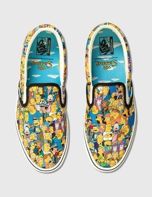 R代購 Vans 辛普森家族 Simpsons ComfyCush Slip-On 滑板鞋 懶人鞋 男女