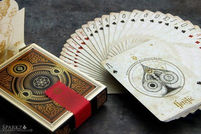 【USPCC 撲克】HERETIC Lux playing cards