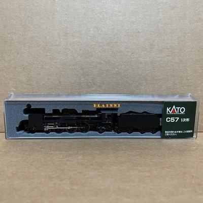 N規 KATO 2024 C57 1次形 蒸汽車頭 一次形 蒸氣火車 火車頭 蒸氣機關車 蒸氣火車頭 蒸氣機車