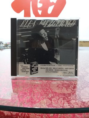 classic compact discs 24ct GOLD Ella Fitzgerald  let no man white my epitaph