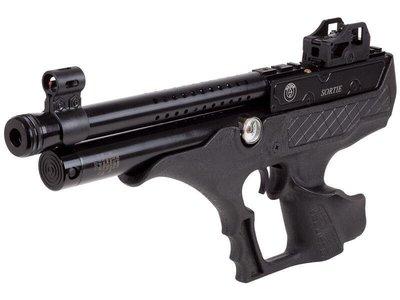 昊克生存遊戲-騎翼鶯歌 Hatsan Sortie 突襲者 半自動PCP 手槍快速射擊 4.5mm 膠托 附贈原廠槍箱