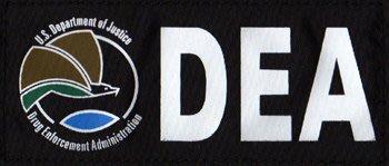 JHS((金和勝 生存遊戲專賣))警星DEA 識別貼片 中  ID~15