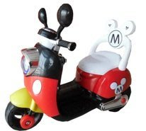 【小糖雜貨舖】Mickey 米奇 (靠背) 電動 摩托車 兒童摩托車 充電車音樂 mp3 生日 禮物 (未組裝)