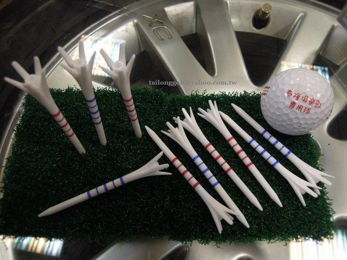 日本原裝進口 DAIYA GOLF 高爾夫球Tee (10支裝)  貼心邊線設計 讓您輕鬆好判斷
