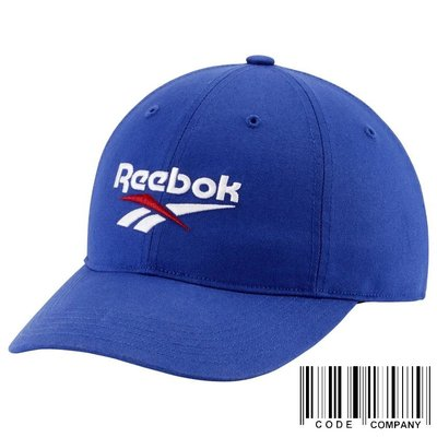 =CodE= REEBOK CLASSIC LOST & FOUND CAP 電繡棒球帽(藍白)ED2147 老帽 男女
