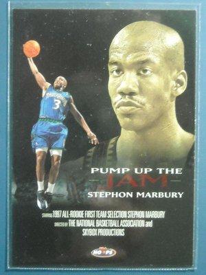 Hoops Pump Up The Jam Stephon Marbury 特卡