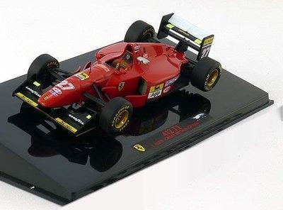 【MASH】[絕版品特價] Hot Wheels Elite 1/43 F1 Ferrari 412 T1 GP #27