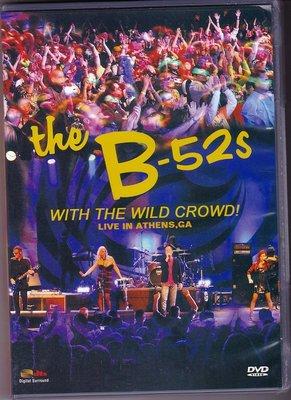 音樂居士#B-52's with the Wild Crowd! Live In Athens, GA B-52's樂隊 D9 DVD