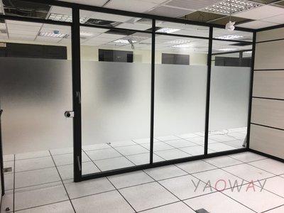 【耀偉】鋁框高隔間 (辦公桌/辦公屏風-規劃施工-拆組搬遷工程-組合隔間-水電網路)11
