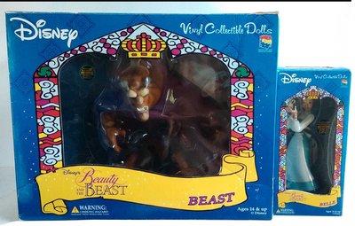 MEDICOM TOY~Disney美女與野獸Beauty and the Beast-貝兒Belle+野獸Beast