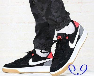 NIKE SB ADVERSARY PRM 黑白 經典 防滑 包裹性 舒適 運動 滑板鞋 CW7456-002 男女鞋
