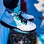 "Air Jordan 5 ""Island Green"" 黑白綠 雪豹 3M反光 籃球鞋 CN2932-100 男鞋"