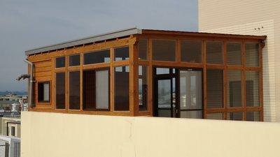 屋頂。加蓋。玻璃、採光罩。頂樓、玻璃屋。透光、遮陽、下雨低聲響、環保、隔熱【園匠工坊】免費到府估價
