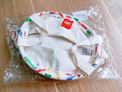 【全新】Tomica手挽布袋 (彩色車車圖案)