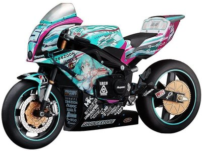 FREEing 賽車 初音 重機 EX:ride Spride.06 TT零13 女神的愛機 日本原裝進口