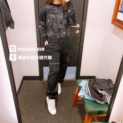 【豬豬老闆】Nike NSW Icon Clash 黑色 長褲 縮口 刷毛 休閒 運動 訓練 女款 DC0655-010