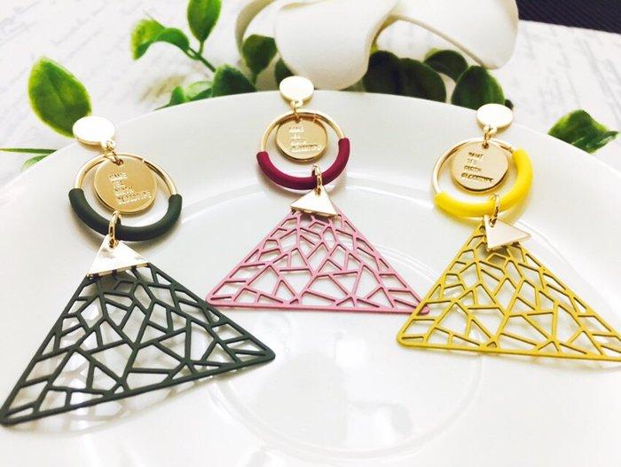 【寶寶王國】韓國晶燦造型銀針耳環  (商品編號 322-46770)