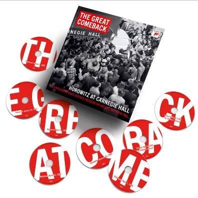1965年重大復出前私人音樂會實況錄音The Great Comeback(15CD)/霍洛維茲-19075935332