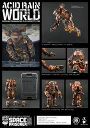 Acid Rain 酸雨戰爭 太空囚犯 Space Prisoner Action Figur 代理現貨
