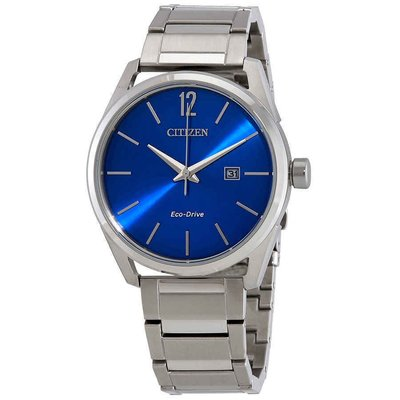 【換日線】男錶 Citizen CTO - Check This Out Blue Dial Men's Watch BM7410-51L
