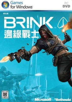 【傳說企業社】PCGAME-Brink 邊緣戰士 邊境封鎖島(英文版)