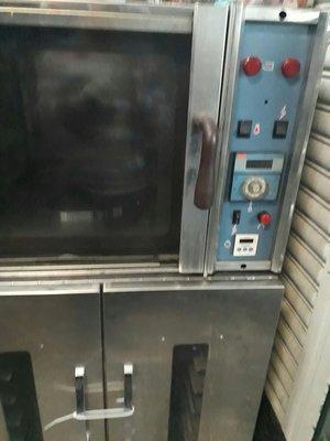 食品機械 旋風式烤箱 三麥公司出場 附送烤盤 220v、 醱酵箱8皿式