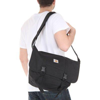 【P+C】Carhartt WIP Parcel Bag Black 多功能 郵差包 公事包 手提包 側背包 男女